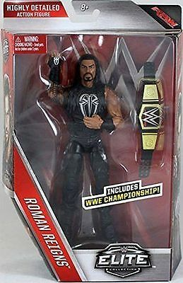 Wwe Wrestling Roman Reigns  Serie Elite 45 New