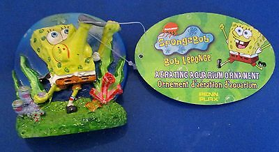 Nickelodeon Penn Plax Spongebob Aerating Aquarium Fish Tank Pond Ornament