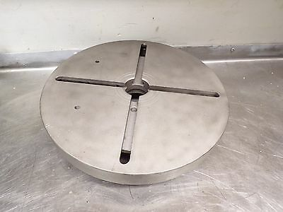 """11"""" Diameter T- Slotted Face Plate D1-3 Mount"""