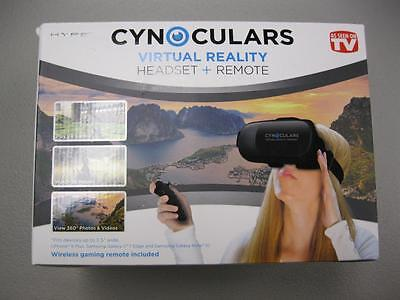Cynoculars Virtual Reality Headset and Remote As Seen on TV