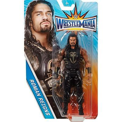 wwe WRESTLING ROMAN REIGNS WRESTLEMANIA 33  MATTEL NEW