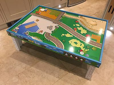 Official Thomas tank Engine Play Activity Track Table Large 2 X Layouts