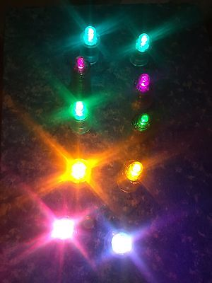 10 Replacement LED Light for Glow Poi, LED Staffs, Glow Baton, Buugeng New