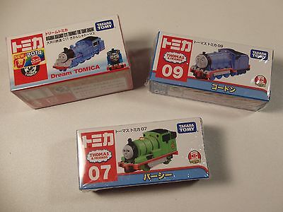 Lot:3 Thomas & Friends Diecast Engines from Japan Tomica Tomy Dream TD.US Seller