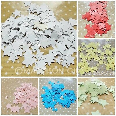 Stars Card Embellishments Toppers Table Confetti Star Scrapbooking Paper Crafts
