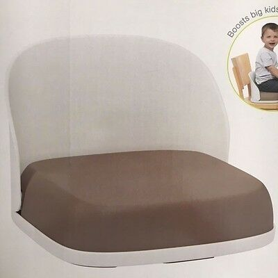 OXO Tot Perch Foldable Booster Seat Neat Chair Cover Taupe