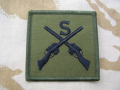 British Army,PARA,SAS,RAF,RM,SBS - Combat Jacket/Shirt SNIPER Sew On Patch/Badge