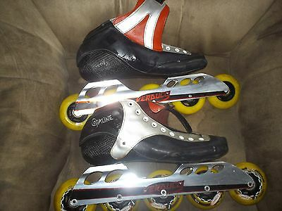 Verducci Speed Skates blades with Copaline Womans Size 10 Boot