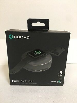"Nomad Charging Pod for Apple Watch - (pod-apple-sg-001) - Space Gray ""Open Box"""