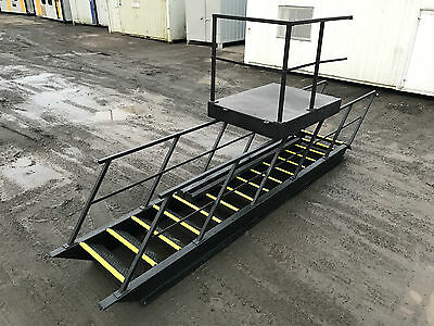 Steel Staircase | Steel Steps | Cabin Staircase | Fire Escape | 2850mm High