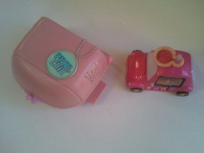 Mattel PIXEL CHIX -  SHOPPING MALL & CAR Play Sets - Good Working Condition