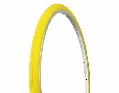 Bicycle Tires, Tubes & Wheels Yellow Wall Duro 27x1 1/4 City Classic Vintage Road Touring Bike Bicycle Tires