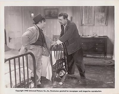 Abbott & Costello Here Come The Co-Eds Lon Chaney Jr 1945 Original 8X10 Photo