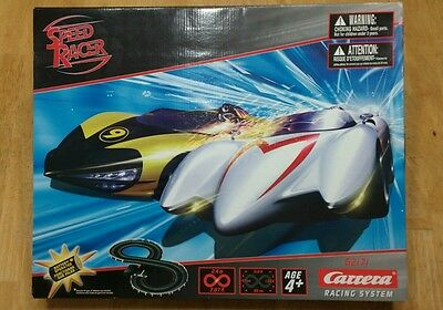 Speed racer electric slot carrera race track set. NEW. Racing system 62171
