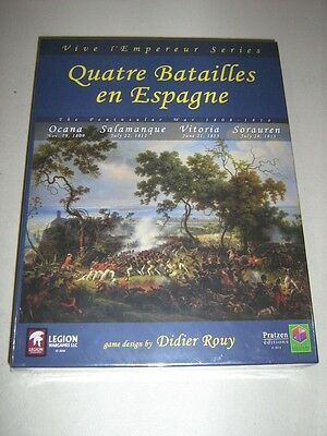Quatre Batailles en Espagne: The Peninsular War 1808-1814 (New)