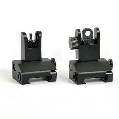 Tactical Folding Front and Rear Metal Sights