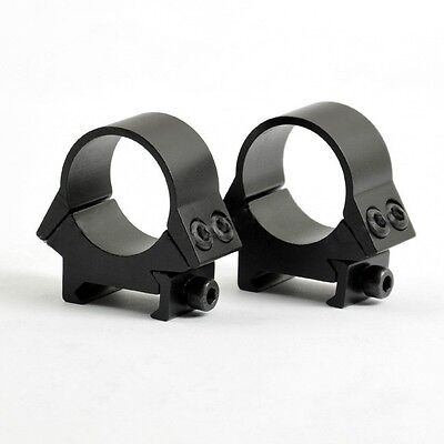 Low Profile 1 inch Scope Rings for Weaver 20mm Rail