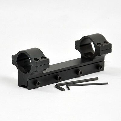 High Profile 12cm Long One-Piece 1 inch RifleScope Mount For 11m Dovetail Rail
