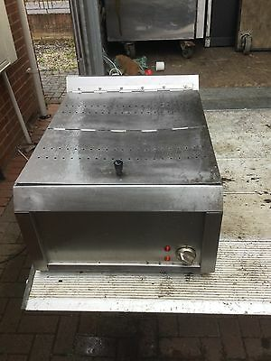 Hcs45 Electric Chip Scuttle Commercial Stainless Steel Counter Top