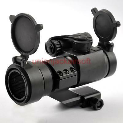 Black M2 Style with Cantilever Mount 1X32 Red Dot Scope + Kill Flash