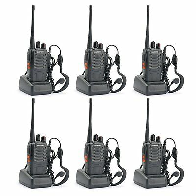 Ghost Hunting Equipment - Two Way Radio (Pack of 6)