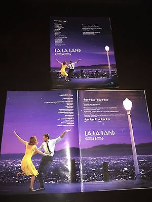 LA LA LAND Oscar Globe advertisement Academy Award ad Gosling Stone Simmons