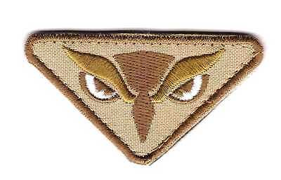 Army Tactical Morale Embroidered Patch Owl Hook & Loop