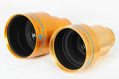 Lot of 2 Isco Ultra Star HD High Definition Projection Lenses 50 65mm 7158 3332