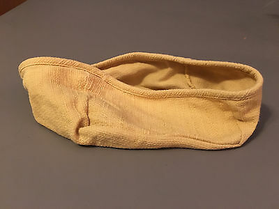 Genuine Longaberger Basket Fabric Liner Mustard Yellow Note Pal Basket Liner