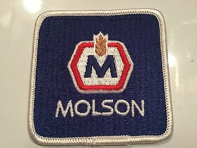 Molson Beer Vintage Patch Advertising Brewery