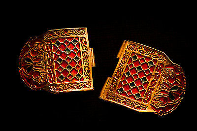 Sutton Hoo Shoulder clasp 1 set - S-31