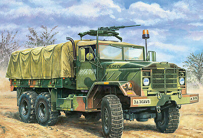 Italeri 279 1/35 Model Kit U.S 5Ton 6x6 Military Heavy Truck M923 A1 Big Foot