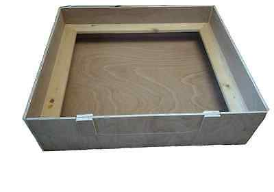 "WHELPING BOX 36"" X 36"" X 14"". 9ml Weatherproof Ply Re-Usable"