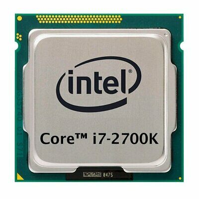 Intel Core i7-2700K (4x 3.50GHz) SR0DG CPU Sockel 1155    #33047