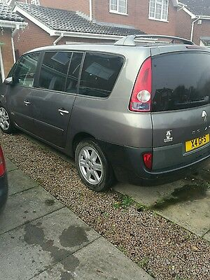 Renault grand espase 3.0 dci breaking for parts