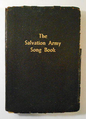 First edition 1954 THE SONG BOOK OF THE SALVATION ARMY leather cover