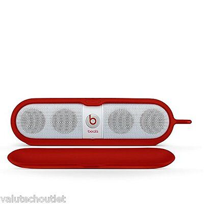 Beats by Dr. Dre Pill Sleeve Silicone Speaker Case Cover - Red (MHDU2G/A)