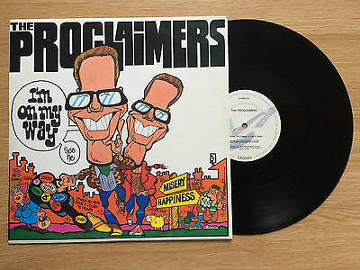 """The Proclaimers - I'm On My Way 1989 (12"""" Vinyl Single) Claimx4 Nm/nm"""