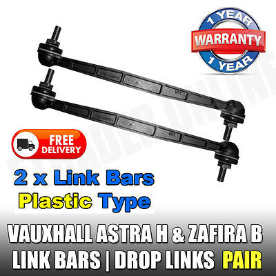 Vauxhall Astra G Mk 4 Drop Links Front Stabiliser Anti Roll Bar Link x2 NEW Pair