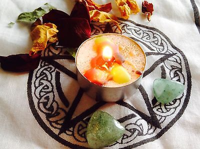 Love Attraction Spell kit SUPER FULL MOON SPELL Candle ~  Wicca magic-pagan