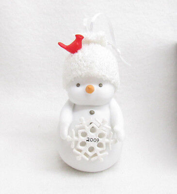 Target Christmas Ornament 2009 Snowflake Snowman Dept 56 Angel Gifts