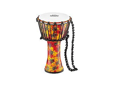 Nino Percussion Small Rope Tuned Synthetic Djembe with Synthetic Head - PDJ1-S-F
