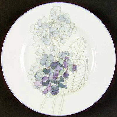 HYDRANGEA Block Spal Bread & Butter Plate NEW NEVER USED Mary Lou Goetzer