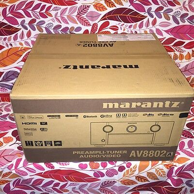 NEW&SEALED 2017 100% AUTHENTIC MARANTZ AV8802A Pre-Amp/Processor - FREE SHIP