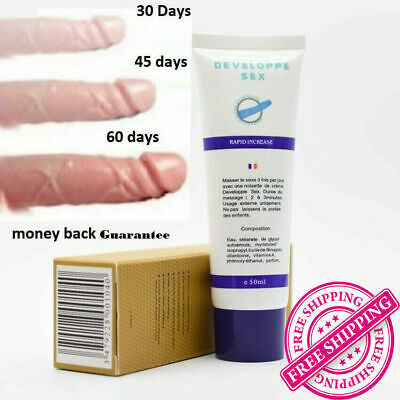 Developpe Sex Penis-Enlargement Cream For Men 50g