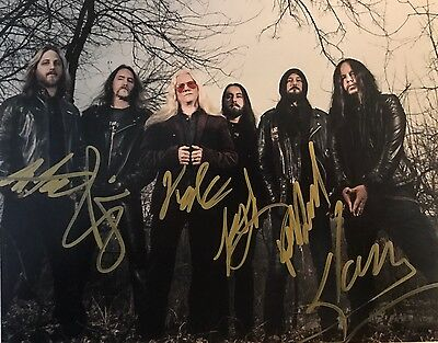 Joey Jordison's Vimic Band Signed Full Band Rare Autographed Authentic!!