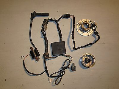 2001 YAMAHA YZ426F COMPLETE IGNITION SYSTEM stator cdi coil harness yz426 2000