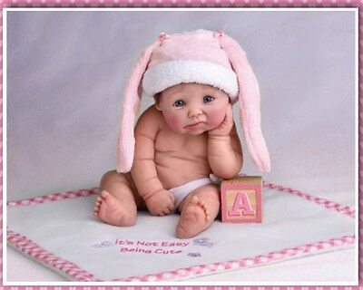 Ashton Drake It's Not Easy Being Cute Baby Doll by Sherry Rawn