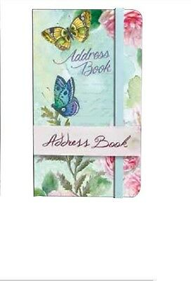 For Arts Sake Carol Wilson Address Book – Butterfly Blooms BB004