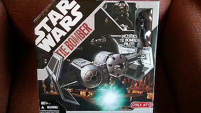 Star Wars 30th Anniversary Tie Bomber including Bomber Pilot